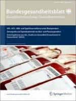 Bundesgesundheitsblatt - Gesundheitsforschung - Gesundheitsschutz 8/2012