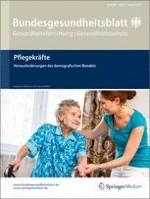 Bundesgesundheitsblatt - Gesundheitsforschung - Gesundheitsschutz 8/2013