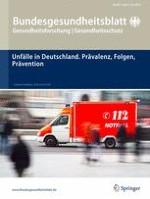 Bundesgesundheitsblatt - Gesundheitsforschung - Gesundheitsschutz 6/2014