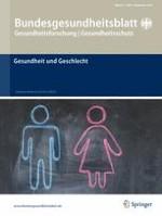 Bundesgesundheitsblatt - Gesundheitsforschung - Gesundheitsschutz 9/2014