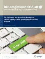 Bundesgesundheitsblatt - Gesundheitsforschung - Gesundheitsschutz 9/2015