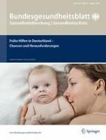 Bundesgesundheitsblatt - Gesundheitsforschung - Gesundheitsschutz 10/2016