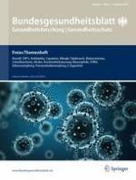 Bundesgesundheitsblatt - Gesundheitsforschung - Gesundheitsschutz 12/2016