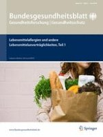 Bundesgesundheitsblatt - Gesundheitsforschung - Gesundheitsschutz 6/2016