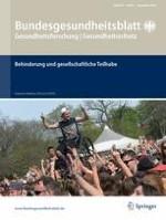 Bundesgesundheitsblatt - Gesundheitsforschung - Gesundheitsschutz 9/2016