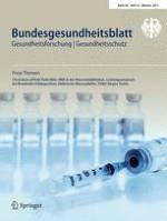 Bundesgesundheitsblatt - Gesundheitsforschung - Gesundheitsschutz 10/2017