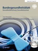 Bundesgesundheitsblatt - Gesundheitsforschung - Gesundheitsschutz 2/2017