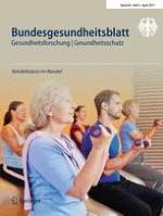 Bundesgesundheitsblatt - Gesundheitsforschung - Gesundheitsschutz 4/2017