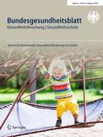 Bundesgesundheitsblatt - Gesundheitsforschung - Gesundheitsschutz 10/2018