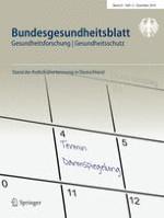 Bundesgesundheitsblatt - Gesundheitsforschung - Gesundheitsschutz 12/2018