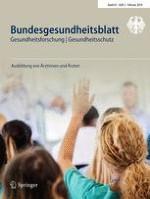 Bundesgesundheitsblatt - Gesundheitsforschung - Gesundheitsschutz 2/2018