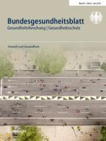 Bundesgesundheitsblatt - Gesundheitsforschung - Gesundheitsschutz 6/2018