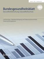 Bundesgesundheitsblatt - Gesundheitsforschung - Gesundheitsschutz 12/2019