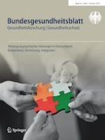 Bundesgesundheitsblatt - Gesundheitsforschung - Gesundheitsschutz 2/2019