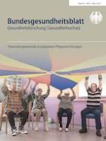 Bundesgesundheitsblatt - Gesundheitsforschung - Gesundheitsschutz 3/2019