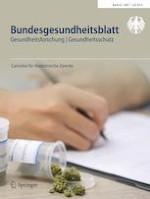 Bundesgesundheitsblatt - Gesundheitsforschung - Gesundheitsschutz 7/2019