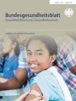Bundesgesundheitsblatt - Gesundheitsforschung - Gesundheitsschutz 1/2020