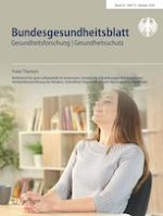 Bundesgesundheitsblatt - Gesundheitsforschung - Gesundheitsschutz 10/2020