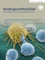Bundesgesundheitsblatt - Gesundheitsforschung - Gesundheitsschutz 11/2020