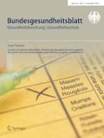 Bundesgesundheitsblatt - Gesundheitsforschung - Gesundheitsschutz 12/2020