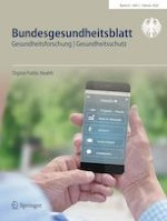 Bundesgesundheitsblatt - Gesundheitsforschung - Gesundheitsschutz 2/2020