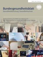 Bundesgesundheitsblatt - Gesundheitsforschung - Gesundheitsschutz 3/2020