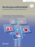 Bundesgesundheitsblatt - Gesundheitsforschung - Gesundheitsschutz 4/2020