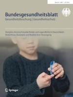 Bundesgesundheitsblatt - Gesundheitsforschung - Gesundheitsschutz 7/2020
