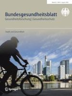 Bundesgesundheitsblatt - Gesundheitsforschung - Gesundheitsschutz 8/2020