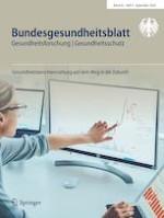 Bundesgesundheitsblatt - Gesundheitsforschung - Gesundheitsschutz 9/2020