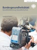 Bundesgesundheitsblatt - Gesundheitsforschung - Gesundheitsschutz 1/2021