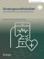 Bundesgesundheitsblatt - Gesundheitsforschung - Gesundheitsschutz 10/2021