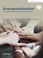 Bundesgesundheitsblatt - Gesundheitsforschung - Gesundheitsschutz 2/2021