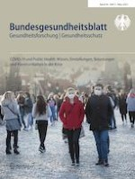 Bundesgesundheitsblatt - Gesundheitsforschung - Gesundheitsschutz 3/2021