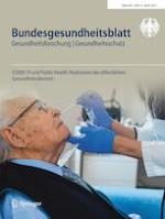 Bundesgesundheitsblatt - Gesundheitsforschung - Gesundheitsschutz 4/2021