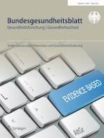 Bundesgesundheitsblatt - Gesundheitsforschung - Gesundheitsschutz 5/2021