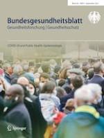 Bundesgesundheitsblatt - Gesundheitsforschung - Gesundheitsschutz 9/2021