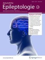 Zeitschrift für Epileptologie 1/2019