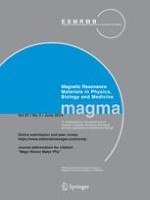 Magnetic Resonance Materials in Physics, Biology and Medicine 3/2014