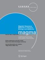 Magnetic Resonance Materials in Physics, Biology and Medicine 2/2017