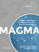 Magnetic Resonance Materials in Physics, Biology and Medicine 5/2018