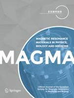 Magnetic Resonance Materials in Physics, Biology and Medicine 1/2020