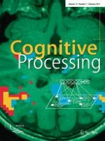 Cognitive Processing 1/2011