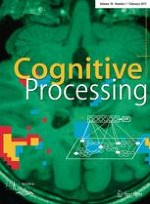 Cognitive Processing 1/2017