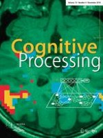 Cognitive Processing 4/2018