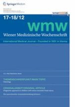 Wiener Medizinische Wochenschrift 17-18/2012