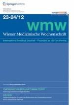 Wiener Medizinische Wochenschrift 23-24/2012