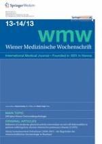 Wiener Medizinische Wochenschrift 13-14/2013