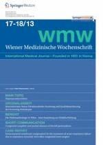 Wiener Medizinische Wochenschrift 17-18/2013