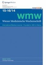 Wiener Medizinische Wochenschrift 15-16/2014